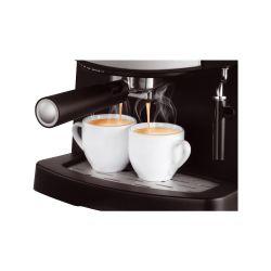 IMAGEM 7: CAFETEIRA EXPRESSO MONDIAL COFFEE CREAM PREMIUM - PRETA E PRATA