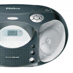 IMAGEM 4: R�DIO PORT�TIL PHILCO PB120N - FM - CD - MP3 - USB - 10W RMS