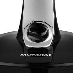IMAGEM 2: VENTILADOR MONDIAL 40CM VT41 TURBO E SILENCIO BRAVIO - 6 P�S - CINZA/PRETO